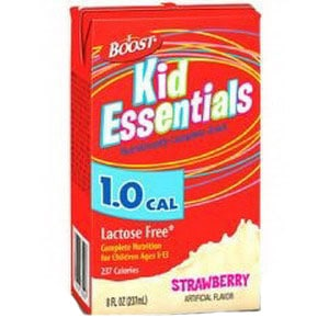 Boost Kid Essentials 1.0 Cal Nutrition Drink, Strawberry 8 oz. Brik Pak