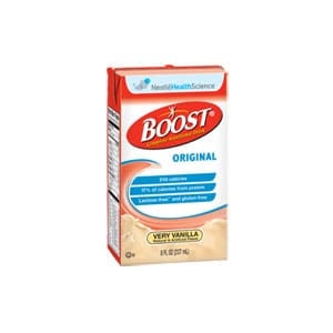 Boost Original Nutritional Drink, Very Vanilla 8oz. Tetra Brik Pak