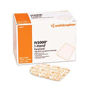 "Tegaderm Transparent Film Dressing First Aid Style 2-3/8"" x 2-3/4"""