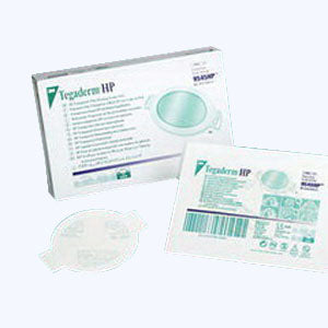 "Tegaderm HP (Holding Power) Transparent Film Dressing 2-1/8"" x 2-1/2"" Sacral"