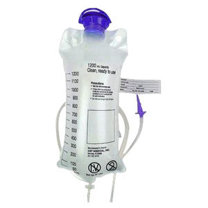 Gravity Feeding Bag, 1200Ml