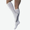SensiFoot Knee-High Mild Compression Diabetic Sock Large, White