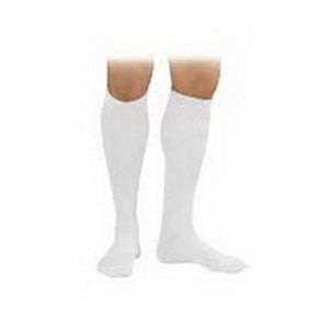 SensiFoot Knee-High Mild Compression Diabetic Sock X-Large, White