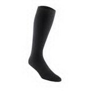 SensiFoot Knee-High Mild Compression Diabetic Sock Medium, Black