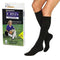 SensiFoot Knee-High Mild Compression Diabetic Sock Large, Black