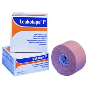 "Leukotape P Heavy-Duty Rigid Strapping Sports Tape 1-1/2"" x 15 yds."