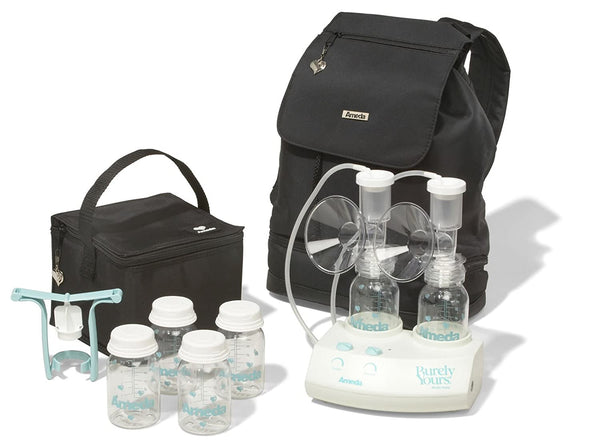 Ameda Purely Yours Breast Pump with Carryall and AC Adapter