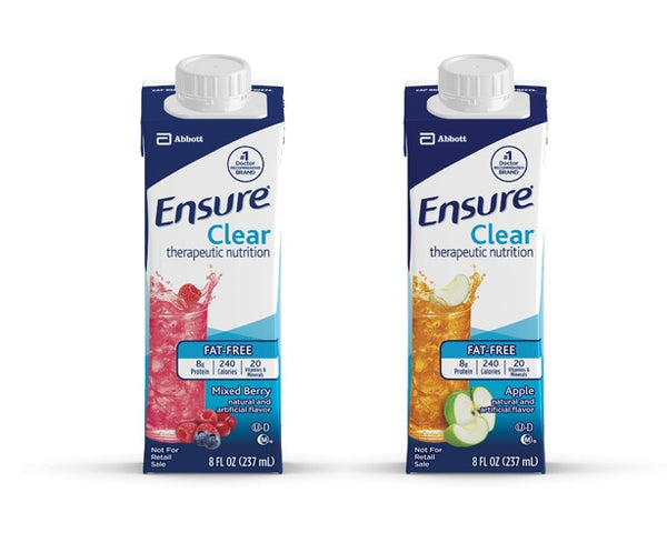 Ensure Clear Therapeutic Nutrition 8 oz.  Carton