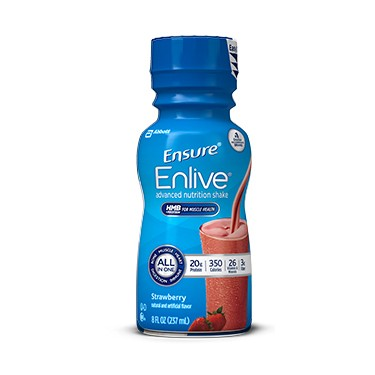 Ensure Enlive Advanced Nutrition Shake 8 oz. Bottle