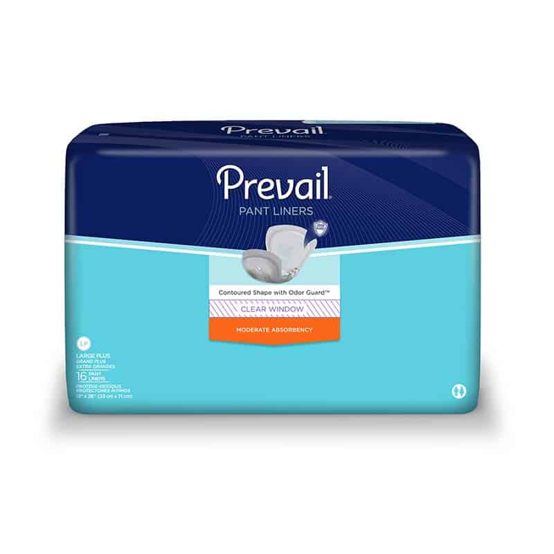 "Prevail Pant Liner Elastic Large Plus 13"" x 28"""
