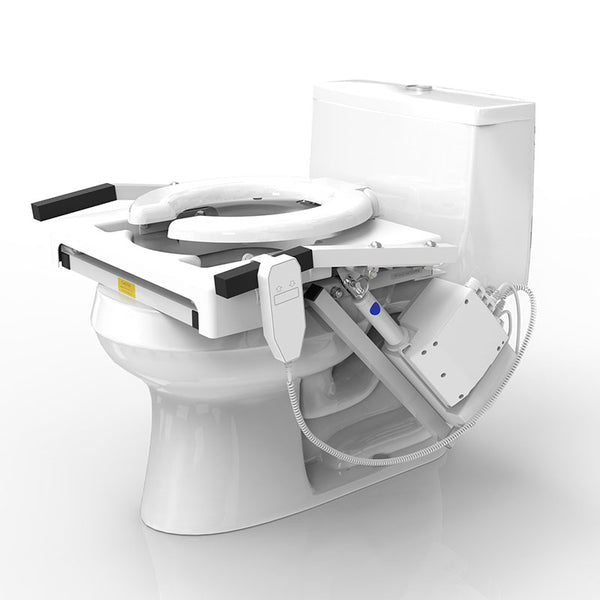 Tilt Toilet Seat Lift Single Motor Elongated Seat