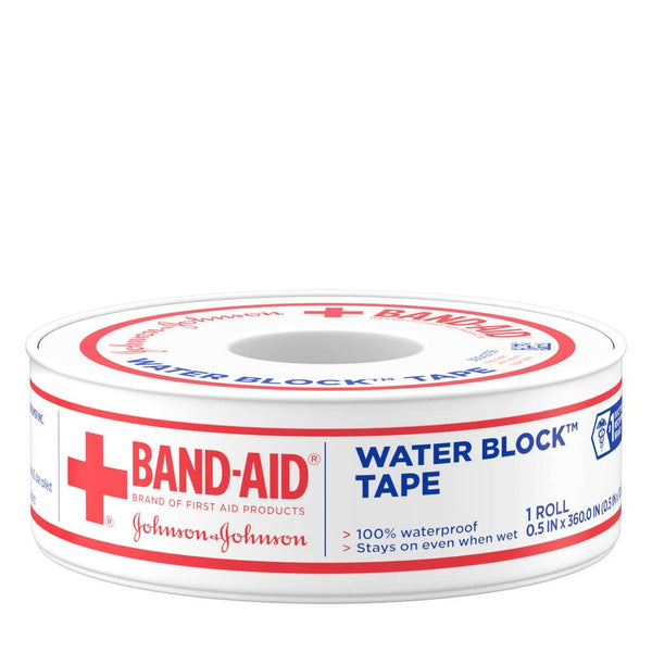J & J Band-Aid First Aid .5 X10 YDS Waterblock Tape