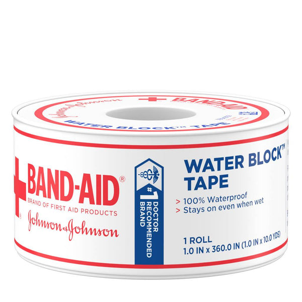 J & J Band-Aid First Aid 1 X10 YDS Waterblock Tape