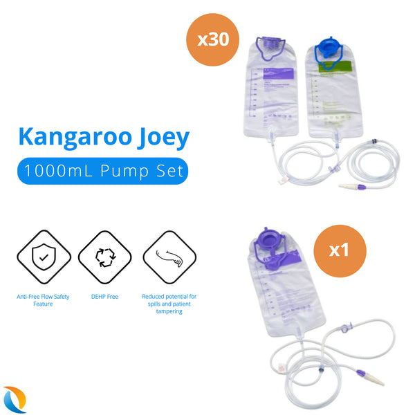 Kangaroo Joey Pump Set 1,000 mL.