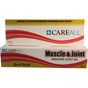Muscle and Joint Gel, 3 oz., 2-1/2% Menthol