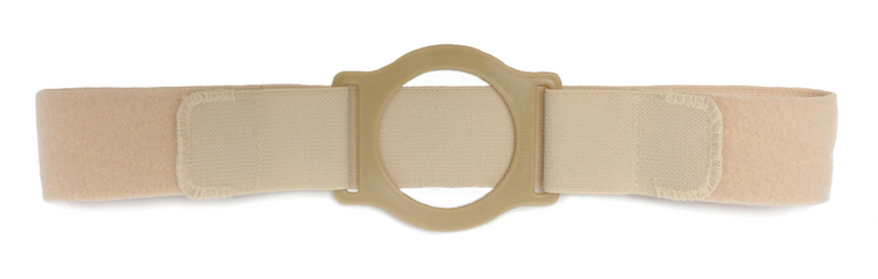 "9"" Left Beige Cool Comfort Nu-Form Extra Extra Large Custom: 3-1/2"" Center Placement One Thumb Loop 50"" Overall Length"