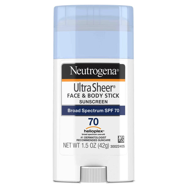Neutrogena Ultra Sheer Face/Body Sunscreen SPF 70 1.5 oz