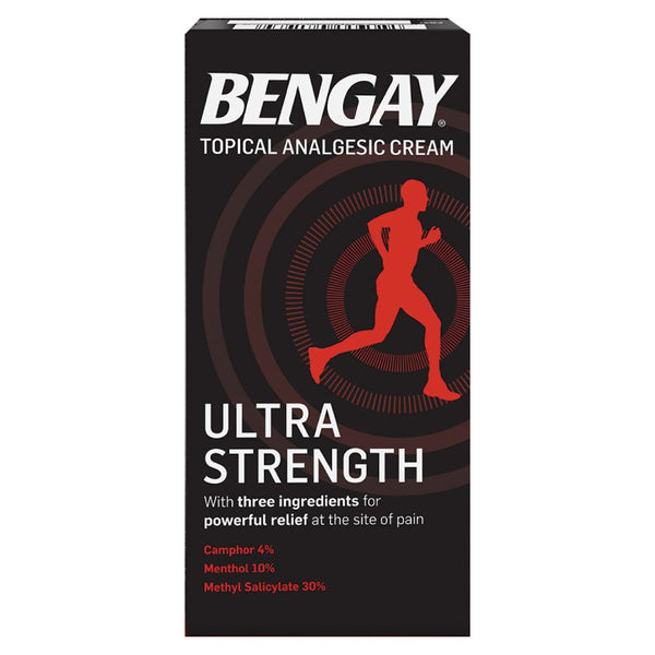 Bengay Cream Ultra Strength, Non-Greasy, 4 oz