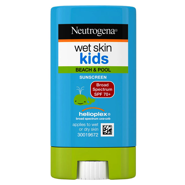 Neutrogena Wet Skin Kids Sunblock Stick SPF 70, 0.47 oz
