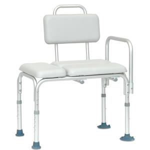 Padded Transfer Bench with Non-Skid Feet
