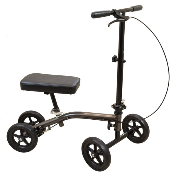 Economy Knee Scooter, Sterling Grey