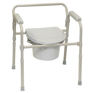 Probasics 3 in 1 Folding Commode 300 lb Capacity