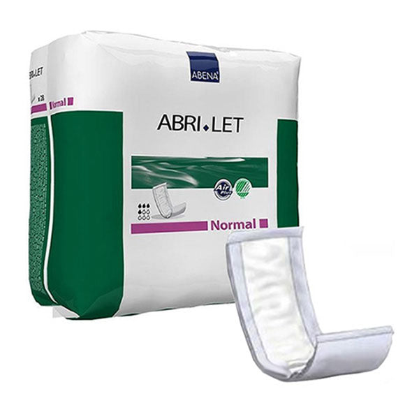 "Abri-Let Fluff Pads Without Foil, Normal, 5.5"" x 15"", 500 ml"