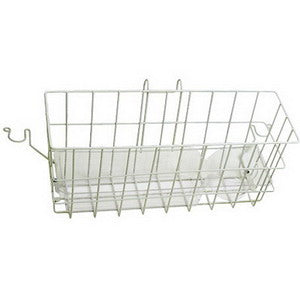 "Carex Snap On Walker Basket with Tray 16"" x 6"" x 7"""