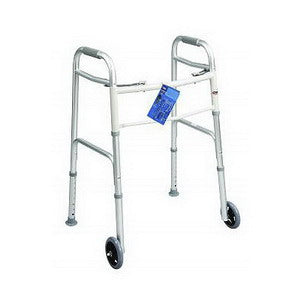 Adult Dual Paddle Walker with Wheels And Glides