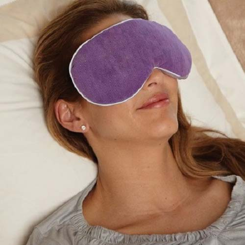 Bed Buddy at Home Relaxation Mask, Purple