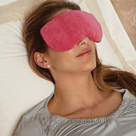 Bed Buddy at Home Relaxation Mask, Pink