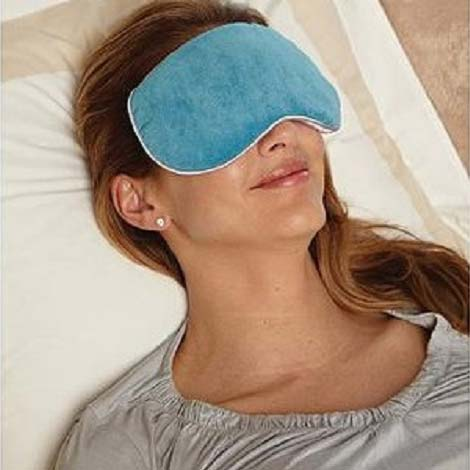 Bed Buddy at Home Relaxation Mask, Blue