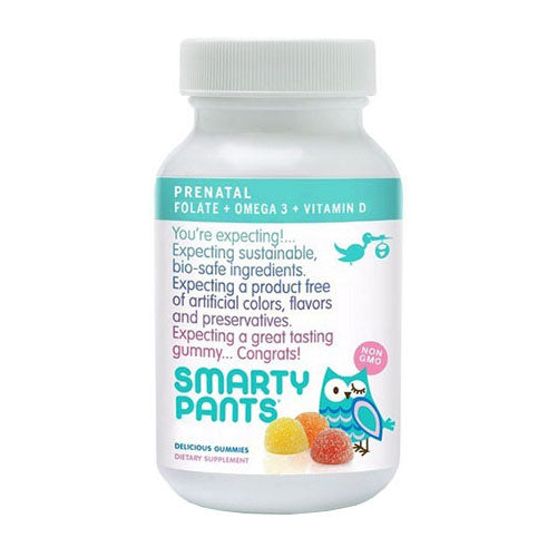 PreNatal Multivitamin + Omega 3s + Vitamin D3 + Methylfolate, 30 Count