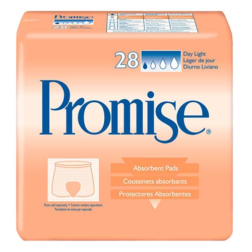 Promise Light Absorbency Day Pad
