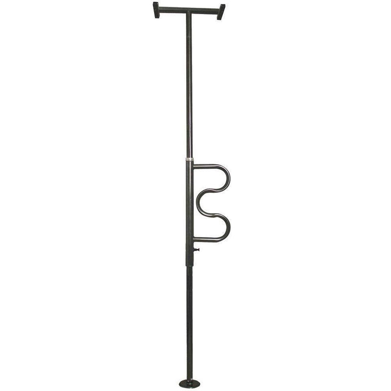 Security Pole and Curve Grab Bar