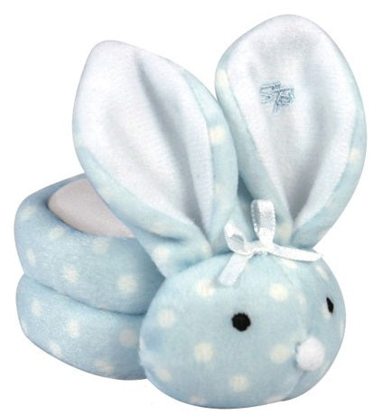Boo-Bunnie Comfort Toy, Dot Blue