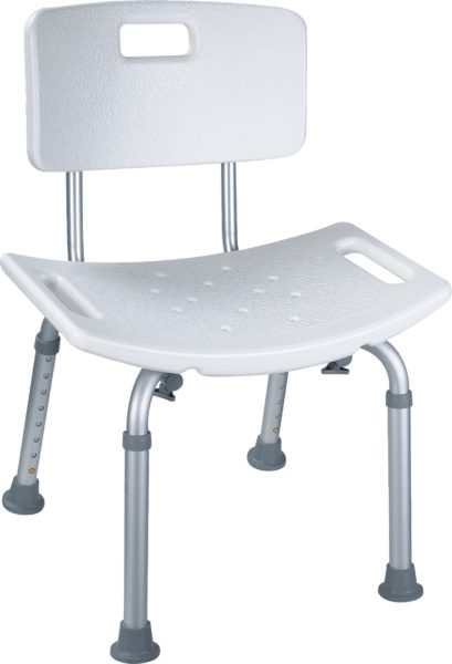 Pro Basics Shower Chair with Back