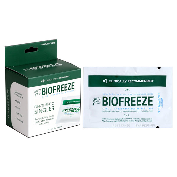 Biofreeze On-The-Go Singles