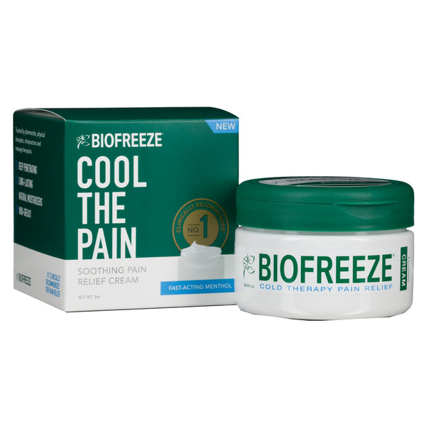 Biofreeze Cream 3 oz Jar