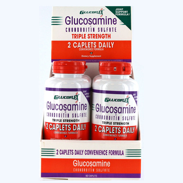 Glucosamine & CSA 2-A-Day 60's Counter Display