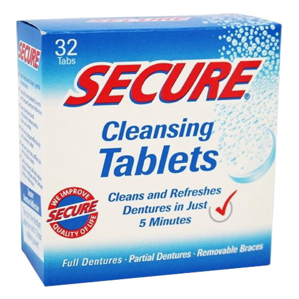 Secure Cleansing Tablets