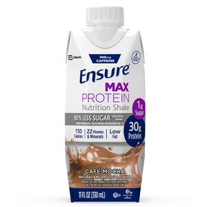 Ensure Max Protein, Cafe Mocha, Ready-to-Drink, 11 oz.