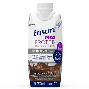 Ensure Max Protein, Milk Chocolate, Ready-to-Drink, 11 oz. (same as 67005)