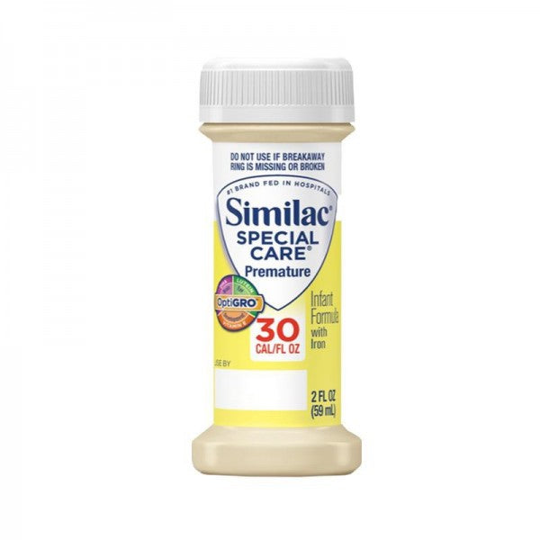 Similac Special Care 30 with Iron, Ready-To-Feed 2 oz., Unflavored