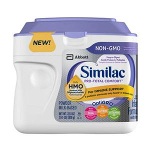 Similac Pro-Total Comfort Infant Powder, Unflavored