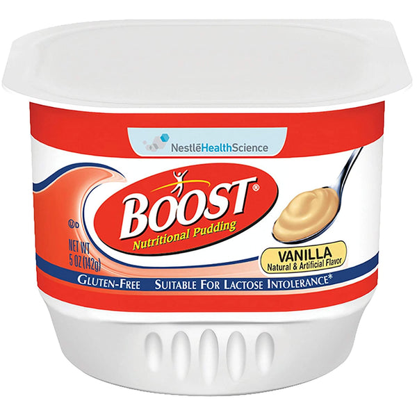 Boost Nutritional Pudding Vanilla Flavor 5 oz. Plastic Cup