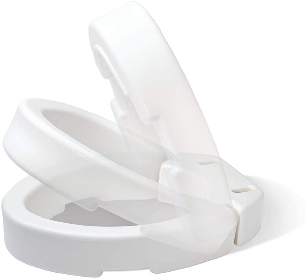 Elongated Toilet Seat Elevator 3-1/2""
