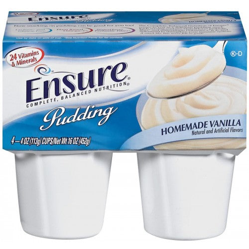 Ensure Vanilla Pudding 4oz. Cups,