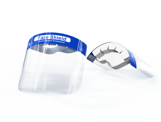 Shieldu Face Shield with Headband - Disposable