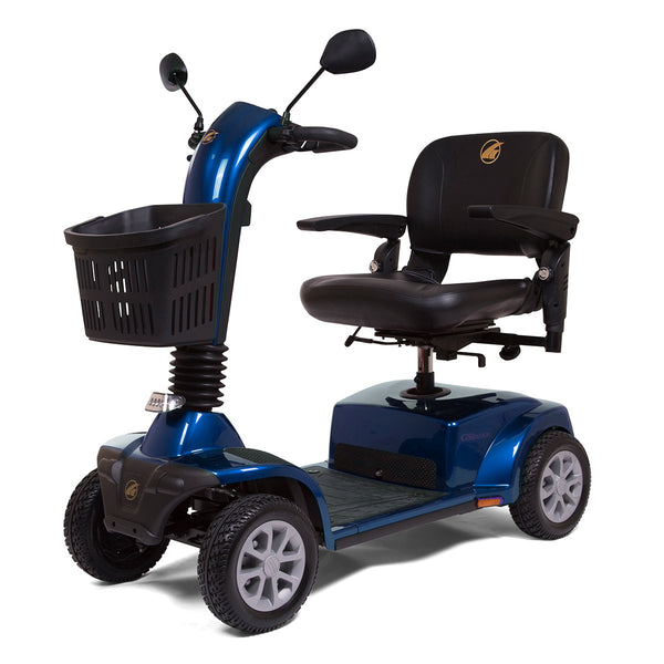 "Companion 4 Wheel Scooter, 18"" x 16"" Seat, Blue"